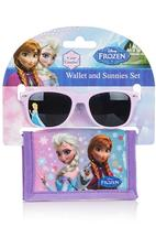 Character Fashion - Frozen Sunglass and Wallet Set Multi-colour