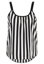 STYLE REPUBLIC - Petersham Cami Black and White