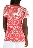 Maya Prass - Farah Pullover Tunic Red