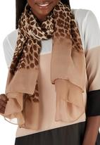 Joy Collectables - Leopard Print Scarf Animal Print