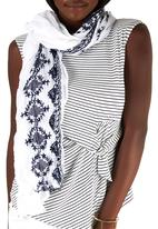 Joy Collectables - Printed Monochrome Scarf Multi-colour