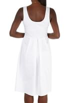 STYLE REPUBLIC - Fit & Flare Dress White