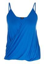 c(inch) - Drape Cami Dark Blue