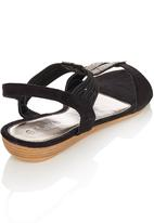 Sollé - Diamante Sandals Black