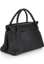 Marie Claire - Fold-over Handbag Black