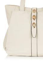 Marie Claire - Handbag with Ring Detail Milk