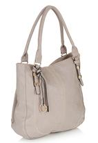 Marie Claire - Tote Handbag with Tassel Detail Mid Grey