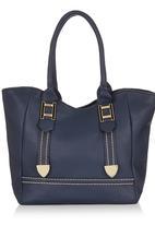 Marie Claire - Handbag with Metallic Detail Navy