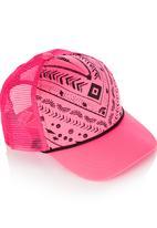 Rip Curl - Teen Bohemian Trucker Mid Pink