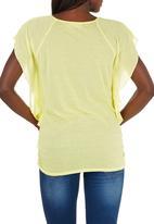 edit - Batwing T-shirt Yellow