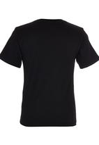 Lizzard - Boys Surf Tshirt Black