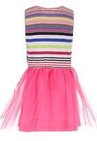 See-Saw - Tutu Combo Fabric Dress Mid Pink