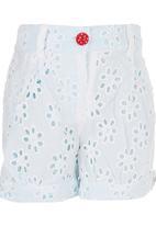 London Hub - Anglais Shorts White