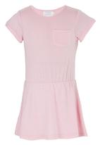 See-Saw - Jersey Dress Pale Pink