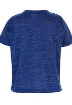 See-Saw - Henley T-shirt with Pocket Detail Dark Blue