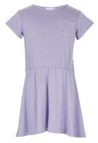 See-Saw - Jersey Dress Pale Purple