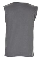 Lizzard - Boys Vest Grey