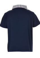 See-Saw - Golf Tee with Contrast Collar Navy