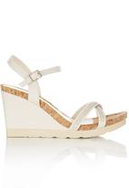 Bata - Diamante Detail Wedges Neutral