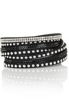 All Heart - Wrap Bracelets Black
