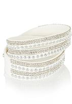 All Heart - Wrap Bracelets White