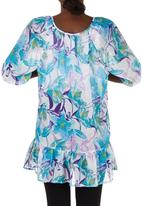 edit Maternity - Printed Chiffon Top Multi-colour