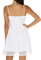 Lizzy - Lillian Dress White