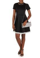 ELIGERE - Lace Detail Dress Black