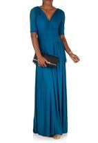 Jacoba - Jessica Dress Turquoise