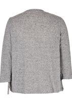 Precioux - Waterfall Cardigan Grey