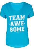 Precioux - Printed Tshirt Turquoise
