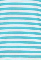 Precioux - Striped Strappy Top Turquoise