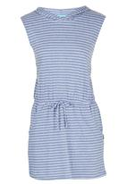 Precioux - Hooded Beach Dress Mid Blue