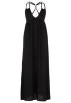 Jorge - Light of Day Maxi Dress Black