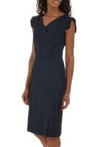 adam&eve; - Fabienne Dress Navy