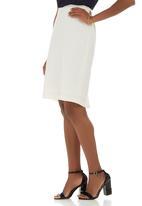 edit - Suit Skirt Milk