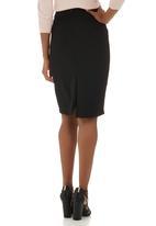 edit - Suit Skirt Black