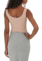Paige Smith - Vest Bodysuit Pale Pink