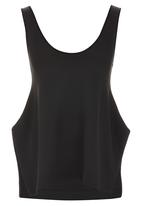 Paige Smith - Slit Vest Black