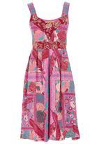 Maya Prass - Adalia Swing Dress Mid Pink