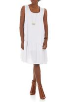 Isabel de Villiers - Summer Frill Dress White
