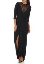 Gert-Johan Coetzee - Twist Maxi Dress Black