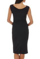 Gert-Johan Coetzee - Lizard Panel Dress Black