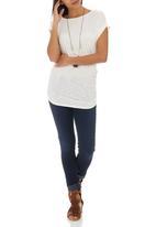 STYLE REPUBLIC - Drape T-shirt White