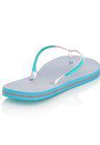 Lizzy - Printed Flip Flops Mid Pink