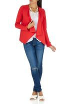 edit - Waterfall Jacket Red