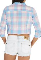 Tokyo Laundry - Summer Checked Shirt Multi-colour