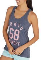 Tokyo Laundry - Bianca Vest Dark Blue