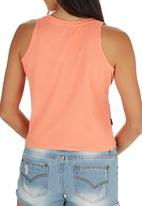 Tokyo Laundry - Brooke Tie up Tank Coral