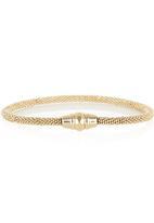 Fossil Jewellery - Twisted Metal Bracelet Gold